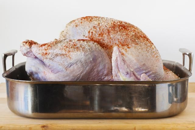 Wondering how to thaw a turkey? There are four ways, and three of them are bad. Learn how NOT to thaw a frozen turkey, along with the one and only safe way to do it.