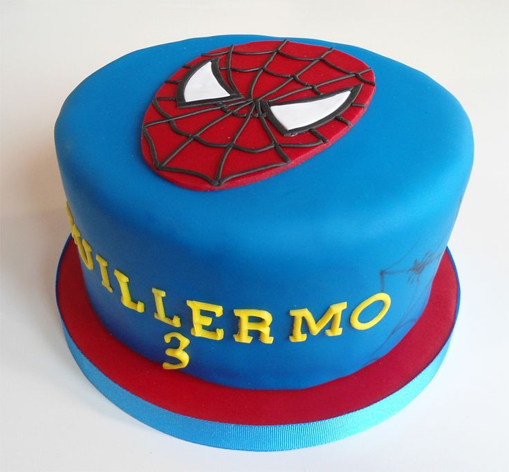 tarta-spiderman-mascara