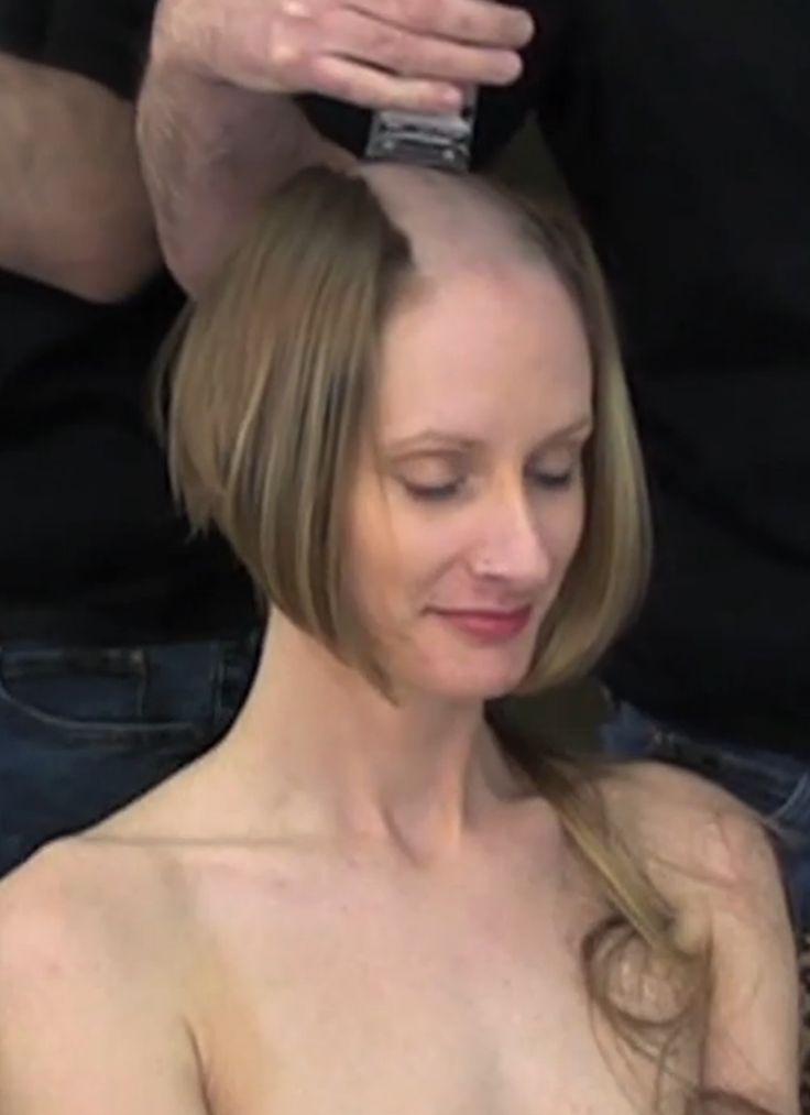 Frauen lieben rasierte Köpfe