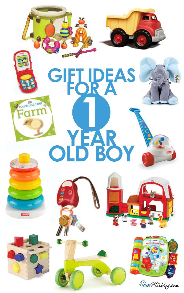 Gift Ideas For 1 Year Old Boys