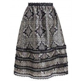 Mischief Picot Skirt