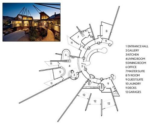 Floor plans floor plans architectural digest and floors - Architectural digest modular home designs ...