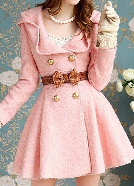 płaszcz pink