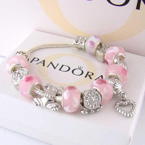 Pandora Pink Charms Bracelets