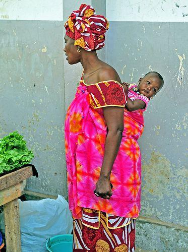 Traditional Clothing, Dakar, Senegal