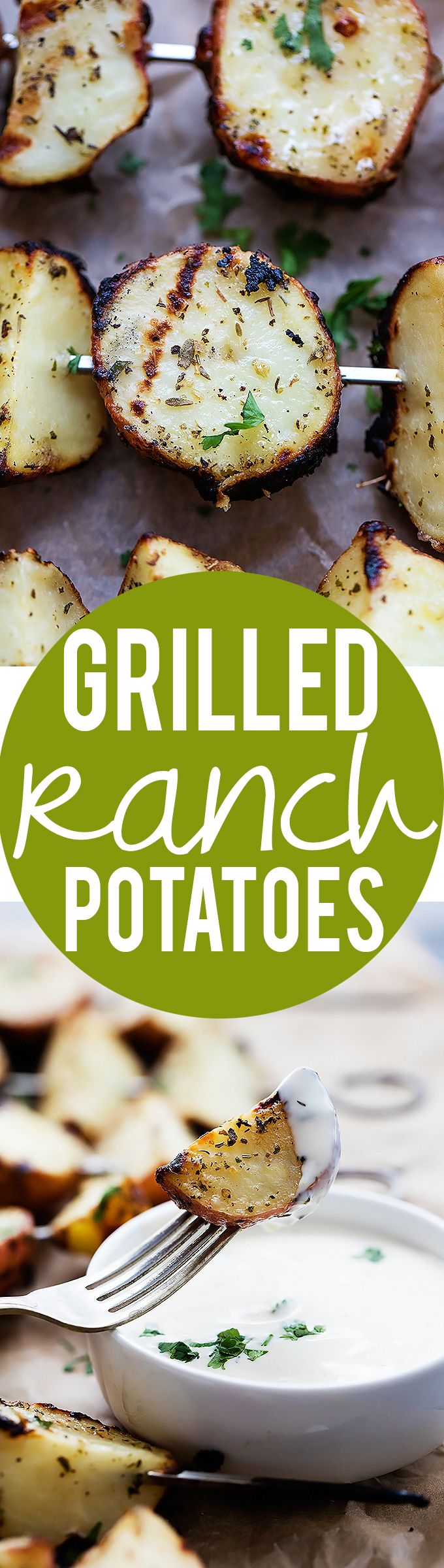 Oh the yumminess: 3-Ingredient Grilled Ranch Potatoes - Creme De La ... http://grillinglove.org/char-broil-classic-4-burner-gas-grill-review/