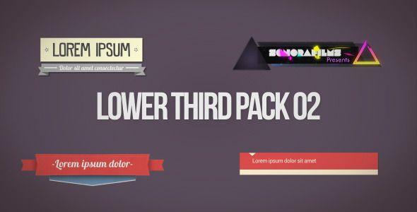 Lower Third Pack 2