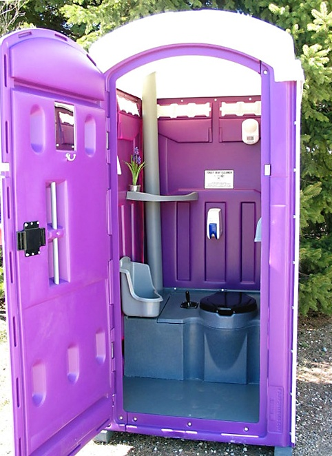 297 best outhouse images on pinterest bathrooms out - Portable bathroom rentals for weddings ...