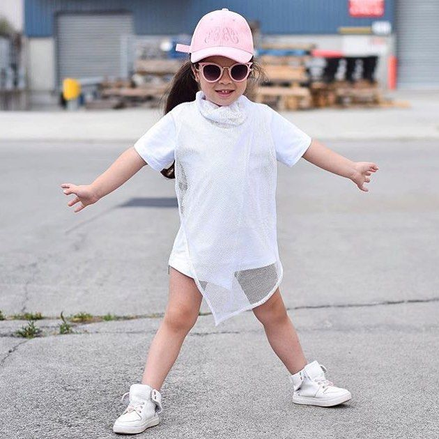 When you are this cool Gorgeous Aaliyah wears The Crossing - the coolest luxe mesh t-shirt out there  shop online today and pay it later with #afterpay or #zippay  > @mischiefandco < Tap link in bio or google: Mischief & co #mischiefandco #kidsfashion #kidsclothes #kidsclothing #kidsstreetfashion #kidsstreetwear #toddlerfashion #toddlerstyle #toddlersofig #influencer #summerfashion #kidsootd #shopthelook #kidatshirt #luxetees #bloggermom #bloggerstyle #kidsstyles #2yearsold #4yearsold…