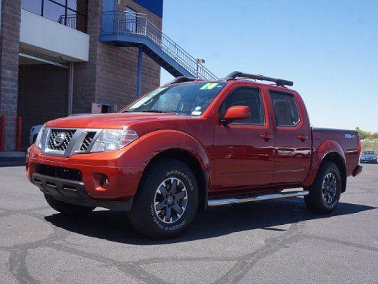 Truck 2014 Nissan Frontier 4 4 Crew Cab With 4 Door In Tucson Az 85706 Nissan Nissan Frontier 4x4 Nissan Frontier