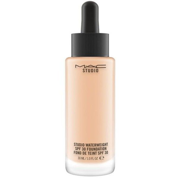 Mac Nw25 Studio Waterweight Spf 30 (135 RON) ❤ liked on Polyvore featuring beauty products, makeup, face makeup, foundation, gel foundation, sheer foundation, spf foundation, moisturizing foundation and mac cosmetics foundation