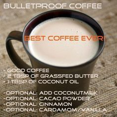 Bulletproof Coffee aids in weight loss