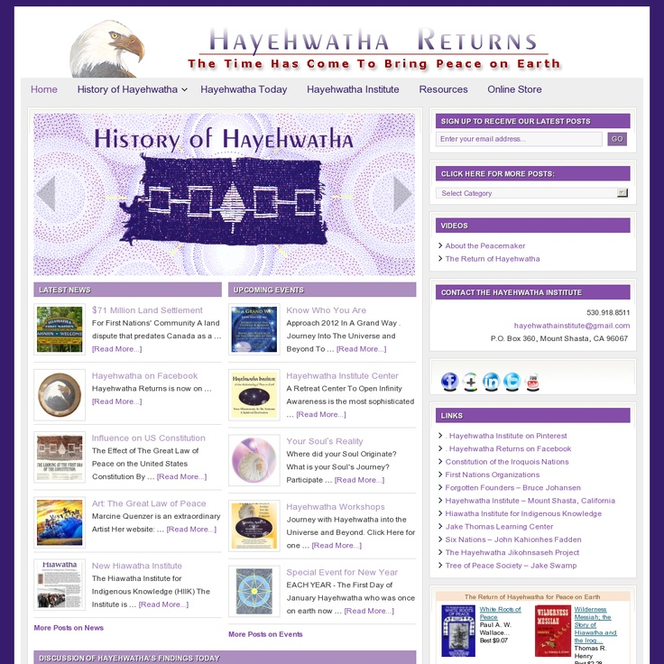 an introduction to the history of the haudenosaunee The haudenosaunee (iroquois) longhouse religion i introduction: who are the iroquois and why are they important a durkheim's theory about the origins of.
