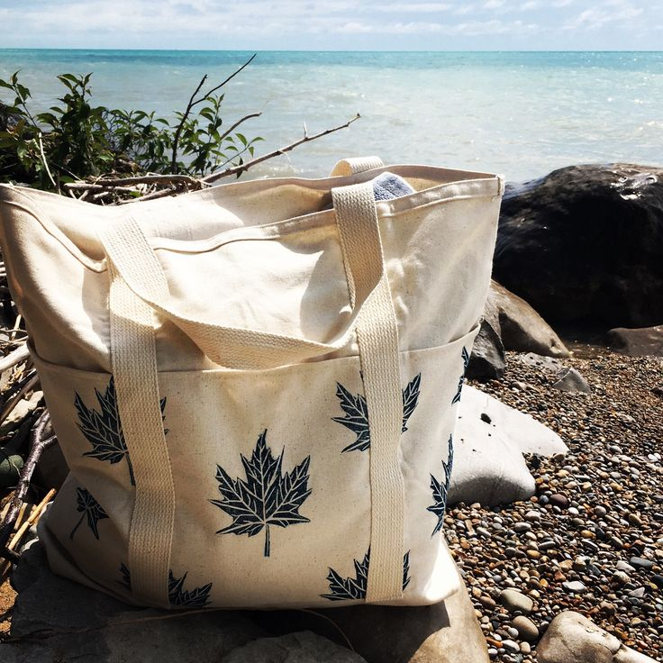 A personal favorite from my Etsy shop https://www.etsy.com/ca/listing/531690176/xl-tote-organic-canvas-bag-beach-bag