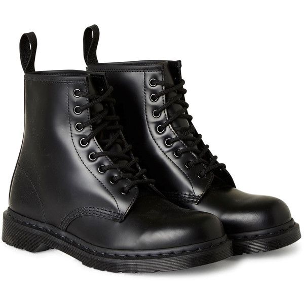 DR High Mono - Black - Shoes - Weekday (11.890 RUB) ❤ liked on Polyvore featuring shoes, leather shoes, black special occasion shoes, leather footwear, holiday shoes and black evening shoes