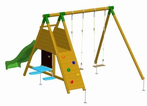 17 mejores ideas sobre columpios de madera en pinterest - Columpio madera jardin ...