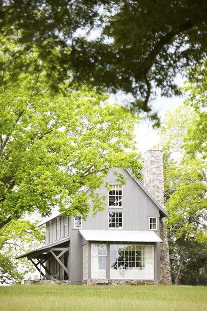 Belk Farm, a rebuilt farmhouse in Chester, South Carolina.   Architect Ken Pursley
