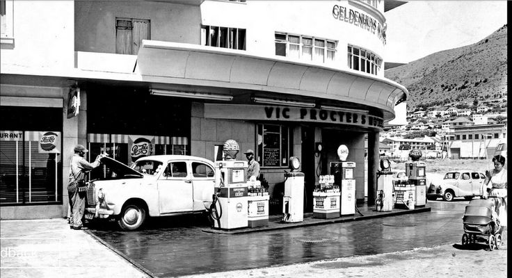 Service station, Three Anchor Bay c1958. | by Etiennedup