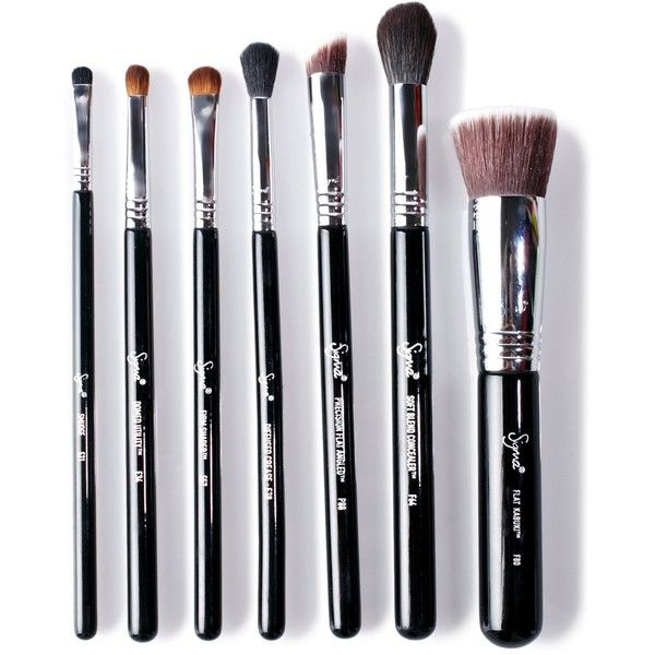 Sigma Best Of Sigma Brush Set (€97) ❤ liked on Polyvore featuring beauty products, makeup, makeup tools, makeup brushes, set of brushes, sigma makeup brushes, sigma cosmetic brushes and set of makeup brushes