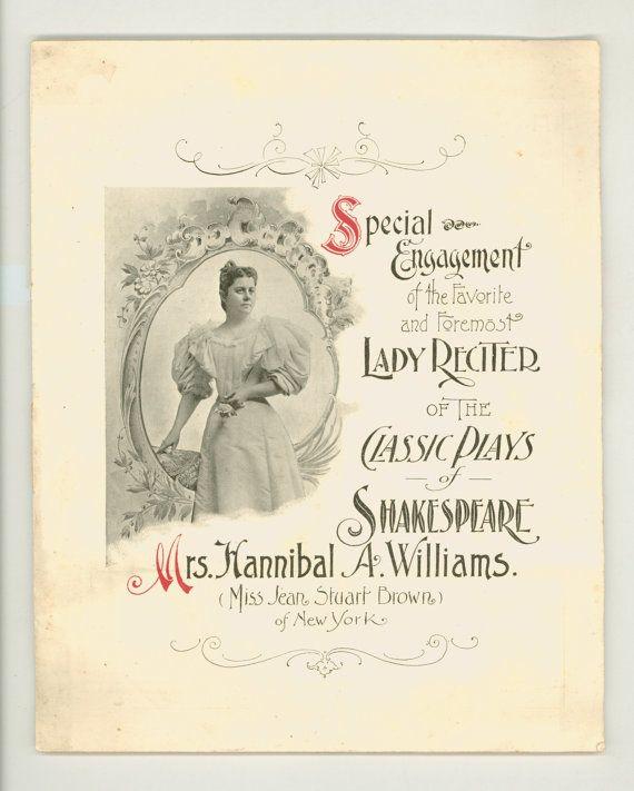 Victorian Era Shakespearean Recitation by ProfessorBooknoodle