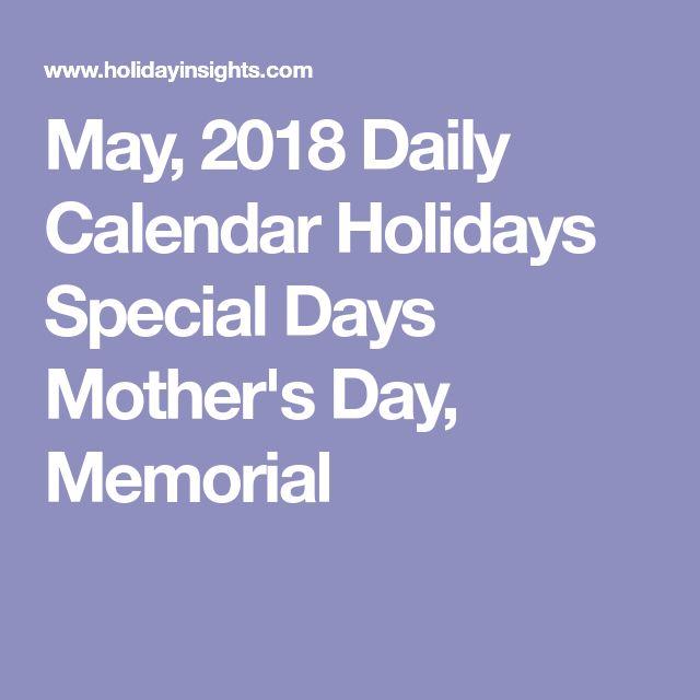 May Calendar Special Days : Best may calendar ideas on pinterest bullet
