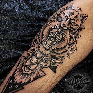 Bildergebnis für animal totem tattoo