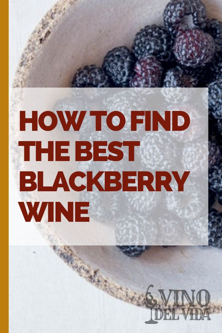 How To Find The Best Blackberry Wine With 2019 Picks In 2020 Blackberry Wine Wine Variety Best Blackberry