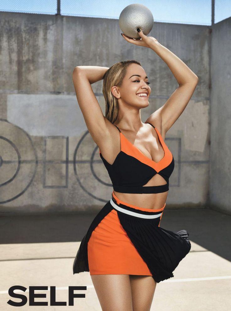 Rita Ora in Swimsuit – SELF Magazine December 2015