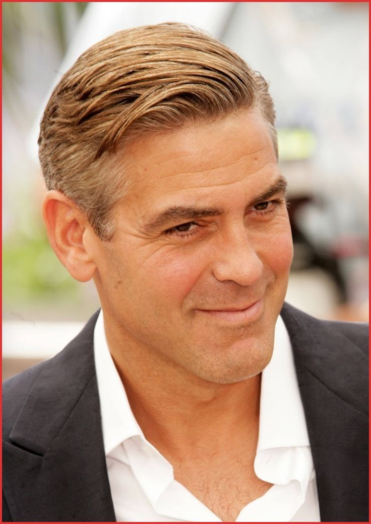 George Clooney Haircuts 159330 9 Best Men Images On Pinterest Cool Hairstyles For Men Haircuts For Men Mens Hairstyles Short