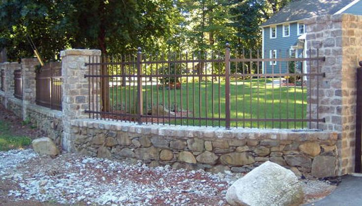 This could be an option, but I think the lower masonry wall could be overkill in your application