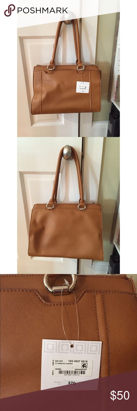 JcPenny brown tote bag Don't hesitate to ask any questions! I'm flexible on the price 😁 Bags Totes