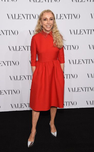 Franca Sozzani Photos - Editor-In-Chief of Vogue Italia Franca Sozzani attends the Valentino Sala Bianca 945 Event on December 10, 2014 in New York City. - Valentino Sala Bianca 945 Event - Arrivals