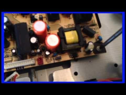 """COMO ARREGLAR TV LCD DE 32"""" QUE NO ENCIENDE - YouTube"""