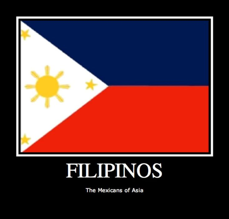 I love that we are the Mexicans of Asia!!!