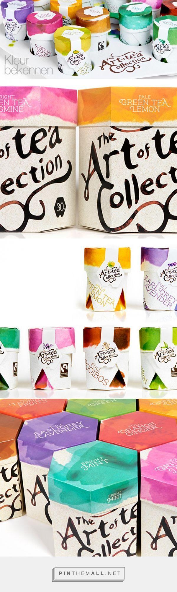 Lovely brand identity. Beautiful colors. Art of Tea