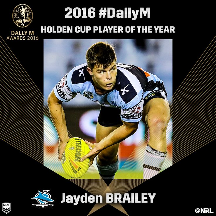 Jayden Brailey: Holden Cup Player of the Year #DallyM #NRL #HoldenCup