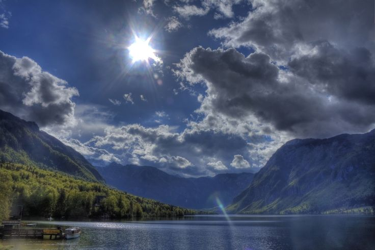 Les baignades écologiques de BIOTOP sont à l'image de la nature. LacBohinj, en Slovénie,    mathieu's pictures