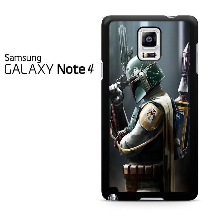 Boba Fett Actor Star Wars Samsung Galaxy Note 4 Case