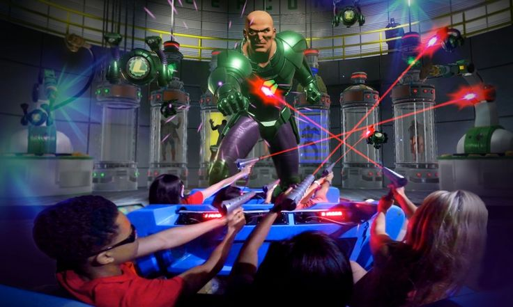 North America's First 4D Interactive Dark Ride Opening at Six Flags Over Texas
