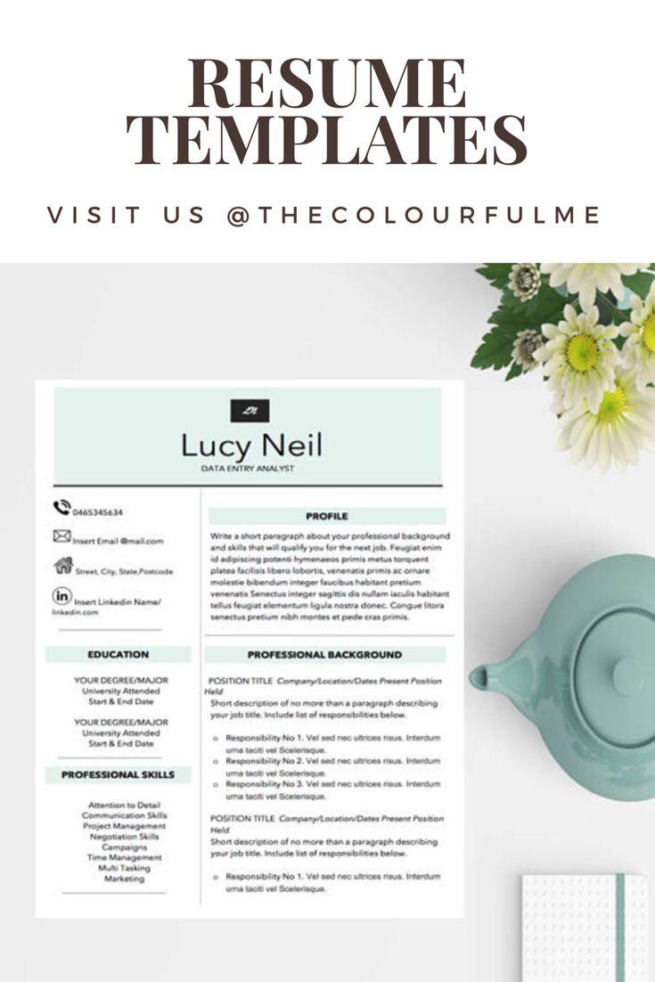The 25 Best Resume Templates Ideas On Pinterest Resume