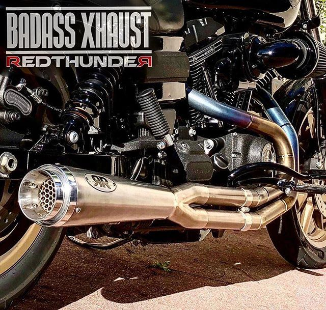Cse Redthunder Exhaust 2into1 Redthunder Racing For H D Dyna