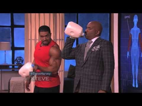 David Otunga at home workout! - YouTube