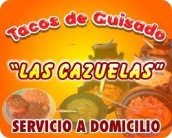 """#tacos #guisado  """"LAS CAZUELAS"""" http://www.lascazuelas.mpw.mx/"""