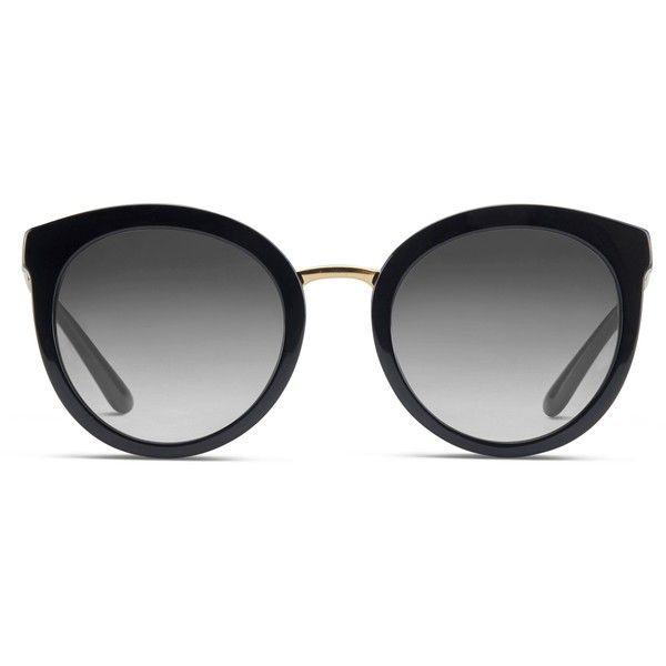 Dolce & Gabbana DG4268 Black ($264) ❤ liked on Polyvore featuring accessories, eyewear, sunglasses, black, sport glasses, acetate sunglasses, acetate glasses, sports sunglasses and sports glasses