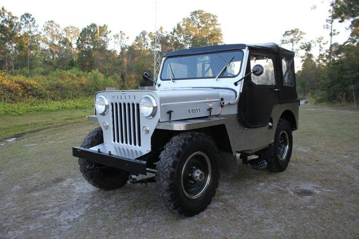 Military Tanks For Sale >> 1954 Jeep Willys CJ-3 High Hood 2.2L CJ3   Jeeps for sale ...