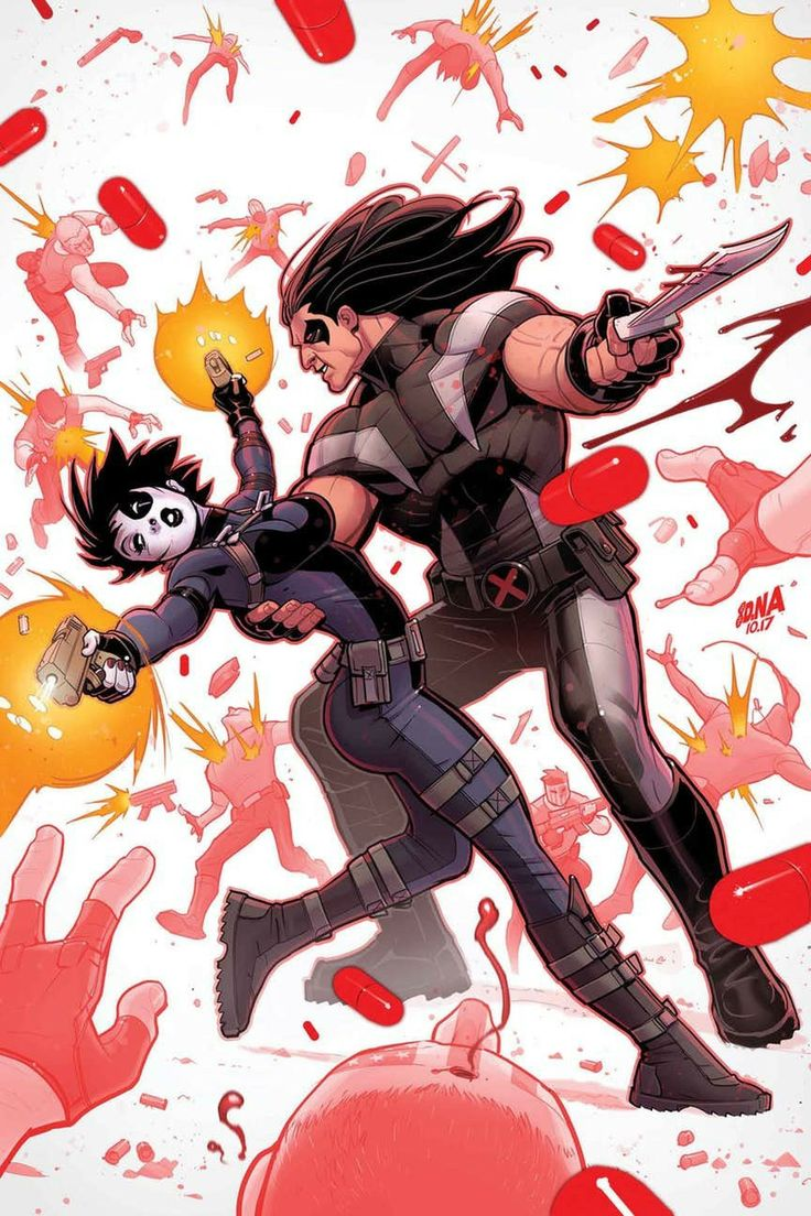 Domino and Warpath