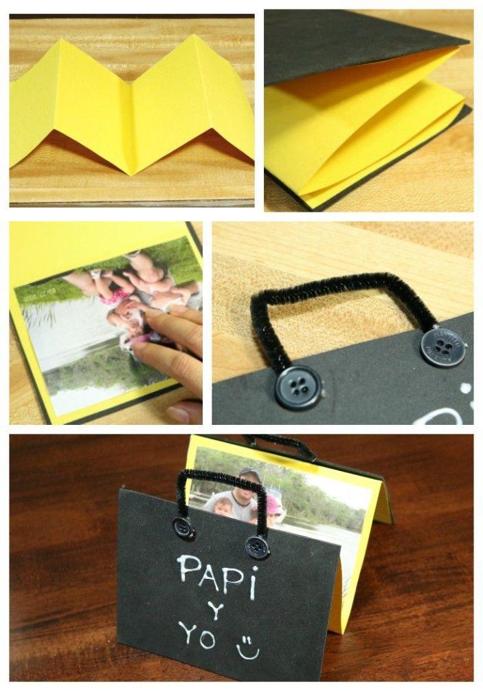Tarjeta con Fotos para el día del Padre – #con #del #dia #El #Fotos #padre