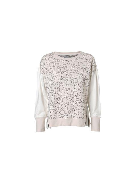 Niddia quilted sweatshirt