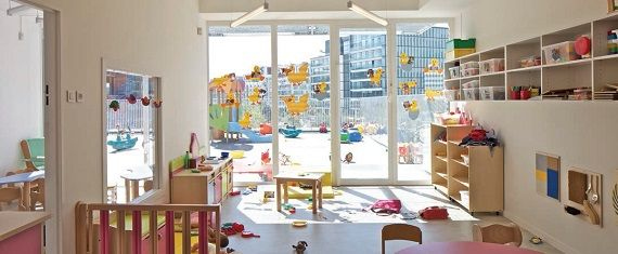 Rüyalar Kadar Renkli | The Giraffe Çocuk Bakım Merkezi Başlıca kullanıcıları çocuklar olan binada, hayvan figürleri yapısal eleman gibi konumlandırılarak kullanıcıların yapıyı sevmesi ve benimsemesi hedefleniyor.