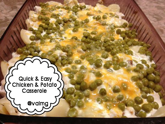Quick and Easy Chicken And Potato #Casserole #Recipe Using @Libby's